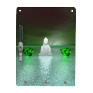 buddha green and water lily green dry erase board