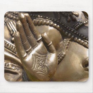 Buddha Hand ~ Thai Temple Photograph Mouse Pad