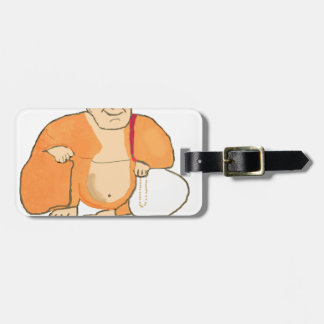 Buddha Happiness Joy Peace Luggage Tag