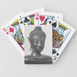 Buddha Head - 15th century - Thailand Bicycle Playing Cards