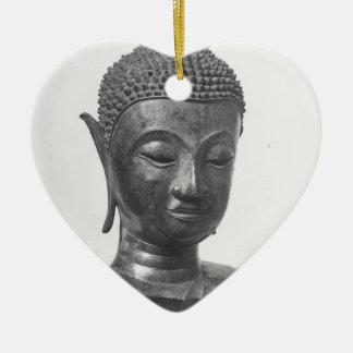 Buddha Head - 15th century - Thailand Ceramic Ornament