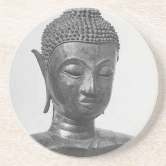 Buddha Head - 15th century - Thailand Coaster