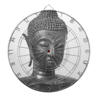 Buddha Head - 15th century - Thailand Dartboard