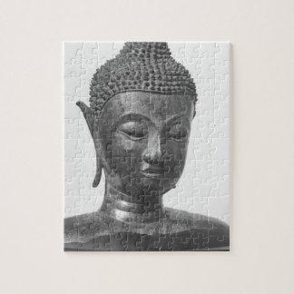 Buddha Head - 15th century - Thailand Jigsaw Puzzle