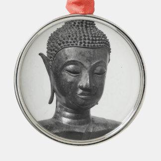 Buddha Head - 15th century - Thailand Metal Ornament