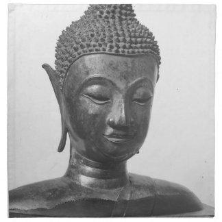 Buddha Head - 15th century - Thailand Napkin