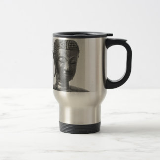 Buddha Head - 15th century - Thailand Travel Mug