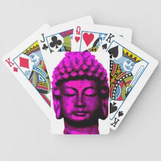 Buddha head bicycle playing cards
