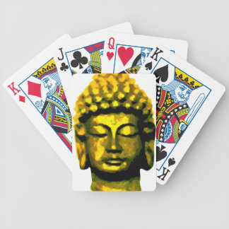 Buddha head bicycle playing cards