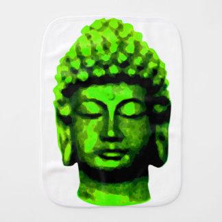 Buddha head burp cloth