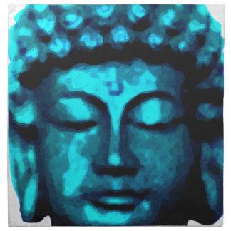 Buddha head napkin