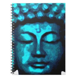 Buddha head notebook