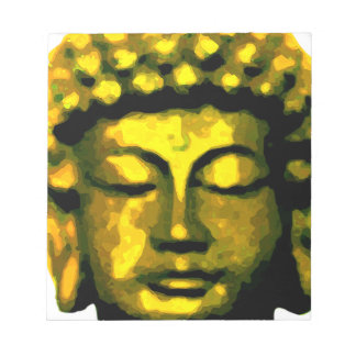 Buddha head notepad