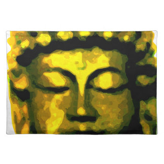 Buddha head placemat