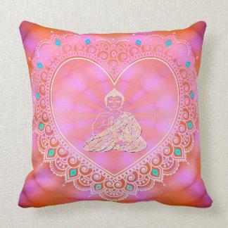 Buddha Icon (Uplifting & Energetic) Throw Pillow