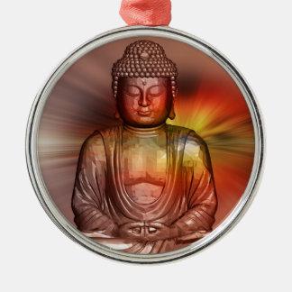 Buddha II Metal Ornament