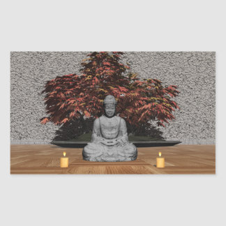Buddha in a room - 3D render