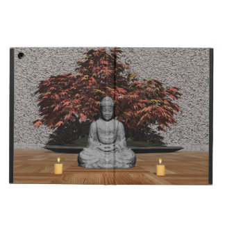 Buddha in a room - 3D render iPad Air Cases