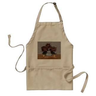 Buddha in a room - 3D render Standard Apron