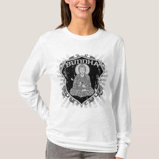 Buddha in Grunge T-Shirt
