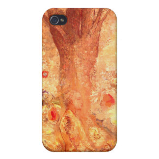 Buddha in His Youth by Redon:  iPhone 4 Cases