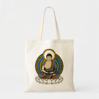 Buddha in Meditation Dhyana Mudra Budget Tote Bag