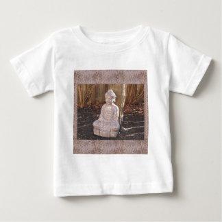 Buddha in Meditation Statue Religion Spiritual fun Baby T-Shirt