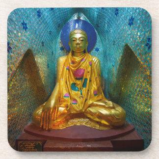 Buddha In Ornate Alcove Coaster