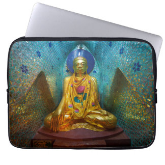 Buddha In Ornate Alcove Laptop Sleeve