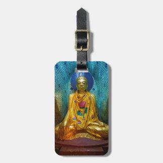 Buddha In Ornate Alcove Luggage Tag