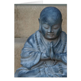 Buddha in Prayer Greeting Card
