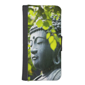 Buddha in Senso-ji Temple Garden iPhone 5 Wallets