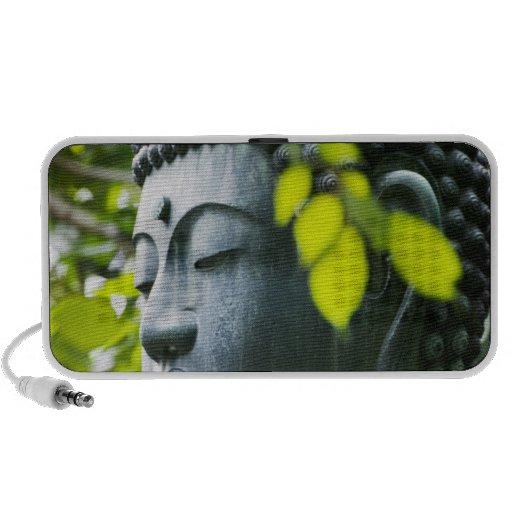 Buddha in Senso-ji Temple Garden Travelling Speakers