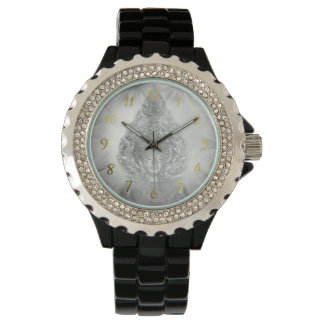 buddha in silver watch