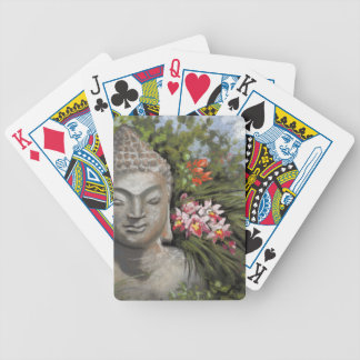Buddha in the Jungle Bicycle Playing Cards