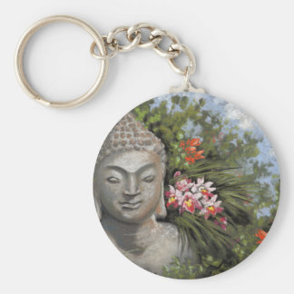Buddha in the Jungle Keychain