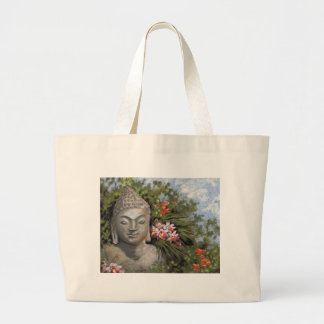 Buddha in the Jungle Large Tote Bag