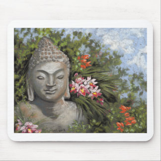 Buddha in the Jungle Mouse Pad