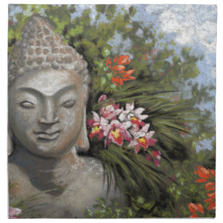 Buddha in the Jungle Napkin