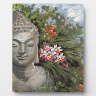 Buddha in the Jungle Plaque