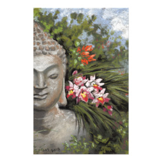 Buddha in the Jungle Stationery
