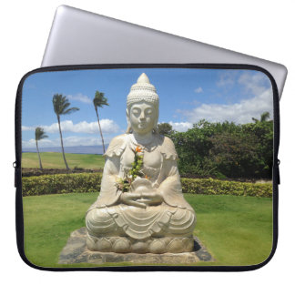 Buddha in Waikoloa, Hawaii Laptop Sleeve