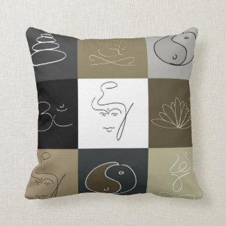 Buddha Inspiration modern design pillow