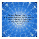 Buddha inspirational quotation POSTER
