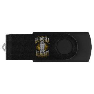 Buddha is my Homeboy USB Flash Drive