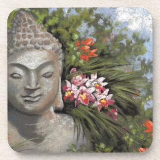 Buddha & Jungle Flowers Coaster