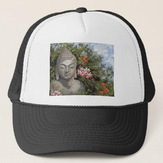 Buddha & Jungle Flowers Trucker Hat