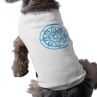Buddha Karma law wheel Wheel OF Justice Doggie Tee