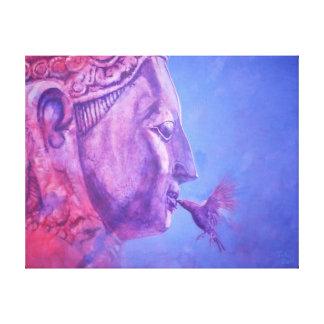 Buddha Kiss Canvas Print