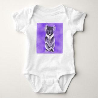 Buddha koala baby bodysuit